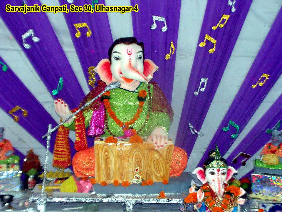 Sarvajanik Ganpati Sec30 Ulhasnagar_4